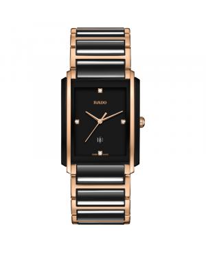 Szwajcarski elegancki zegarek męski RADO Integral Diamonds R20207712