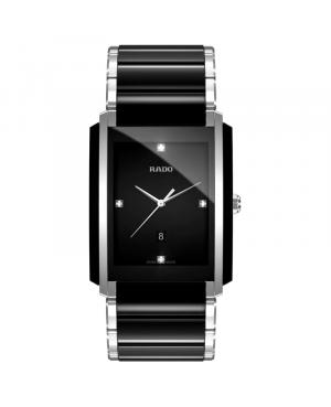 Szwajcarski elegancki zegarek męski RADO Integral Diamonds R20206712