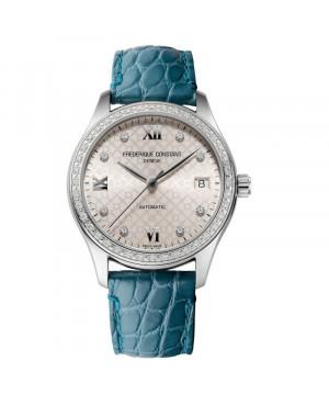 Szwajcarski klasyczny zegarek damski FREDERIQUE CONSTANT Ladies Automatic Diamonds FC-303LGD3BD6 (FC303LGD3BD6)
