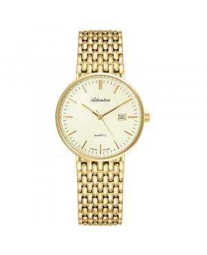 Szwajcarski klasyczny zegarek męski ADRIATICA A1270.1111Q (A12701111Q)