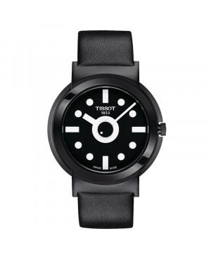 Szwajcarski modowy zegarek męski TISSOT Heritage Memphis Gent T134.410.37.051.00 (T1344103705100)