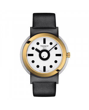 Szwajcarski modowy zegarek męski TISSOT Heritage Memphis Gent T134.410.27.011.00 (T1344102701100)