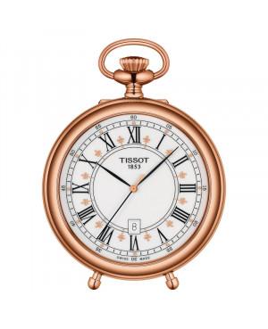 Szwajcarski kieszonkowy zegarek męski TISSOT Stand Alone T866.410.99.013.01 (T8664109901301)