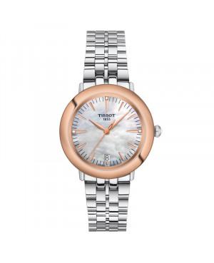 Szwajcarski klasyczny zegarek damski  TISSOT Glendora 18K T929.210.41.116.00 (T9292104111600)