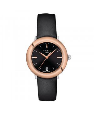 Szwajcarski klasyczny zegarek damski  TISSOT Glendora 18K T929.210.46.051.00 (T9292104605100)