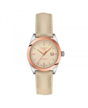 Szwajcarski klasyczny zegarek damski  TISSOT Lady Automatic 18K T930.007.46.261.00 (T9300074626100)