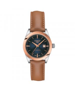Szwajcarski klasyczny zegarek damski  TISSOT Lady Automatic 18K T930.007.46.041.00 (T9300074604100)