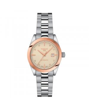 Szwajcarski klasyczny zegarek damski  TISSOT Lady Automatic 18K T930.007.41.266.00 (T9300074126600)
