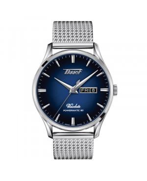 Szwajcarski klasyczny zegarek męski TISSOT VISODATE POWERMATIC 80 T118.430.11.041.00 (T1184301104100)
