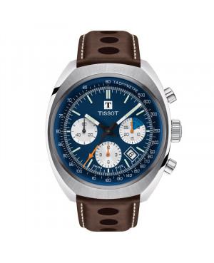 Szwajcarski sportowy zegarek męski TISSOT Heritage 1973 T124.427.16.041.00 (T1244271604100)