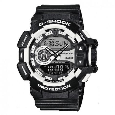 Sportowy zegarek męski Casio G-Shock GA-400-1AER (GA4001AER)