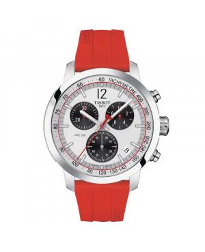 Szwajcarski sportowy zegarek męski TISSOT PRC 200 Chronograph T114.417.17.037.02 (T1144171703702)