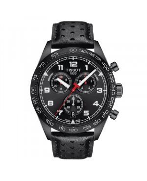 Szwajcarski sportowy zegarek męski TISSOT PRS 516 Chronograph T131.617.36.052.00 (T1316173605200)