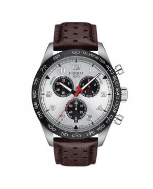 Szwajcarski sportowy zegarek męski TISSOT  PRS 516 Chronograph T131.617.16.032.00 (T1316171603200)