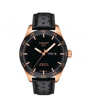 Szwajcarski sportowy zegarek męski TISSOT  PRS 516 Powermatic 80 T100.430.36.051.01 (T1004303605101)