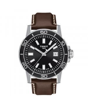 Szwajcarski sportowy zegarek męski TISSOT Supersport Gent T125.610.16.051.00 (T1256101605100)