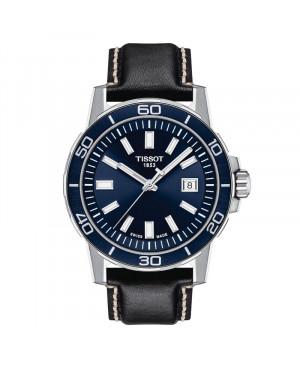 Szwajcarski sportowy zegarek męski TISSOT Supersport Gent T125.610.16.041.00 (T1256101604100)