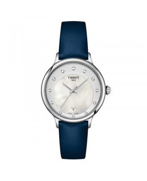 Szwajcarski elegancki zegarek damski TISSOT Odaci-T T133.210.16.116.00 (T1332101611600)
