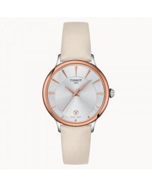 Szwajcarski klasyczny zegarek damski TISSOT Odaci-T T133.210.26.031.00 (T1332102603100)