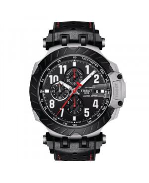 Szwajcarski sportowy zegarek męski TISSOT T-Race MotoGP T115.427.27.057.00 (T1154272705700)