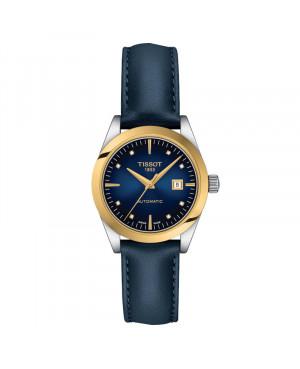Szwajcarski elegancki zegarek damski TISSOT T-My Lady 18K T930.007.46.046.00 (T9300074604600)