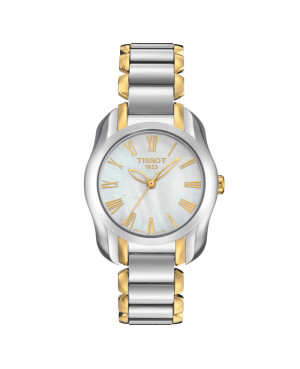 Szwajcarski elegancki zegarek damski TISSOT T-Wave T023.210.22.113.00 (T0232102211300)
