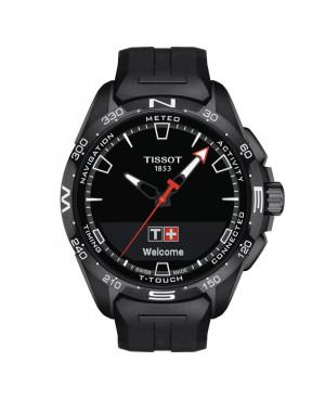 Szwajcarski sportowy zegarek męski TISSOT T-Touch Connect Solar T121.420.47.051.03 (T1214204705103)