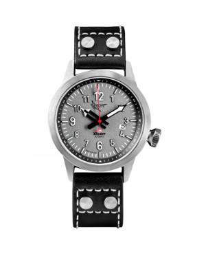 Polski zegarek męski dla pilotów XICORR SPARK LIGHT GREY (LG)