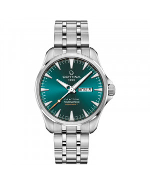 Szwajcarski sportowy zegarek męski CERTINA DS Action Day-Date C032.430.11.091.00 (C0324301109100)