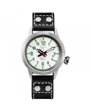Polski zegarek męski dla pilotów XICORR SPARK WHITE (WH)
