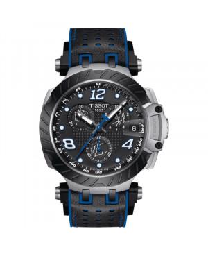 Szwajcarski sportowy zegarek męski TISSOT T-Race Thomas Luthi 2020 Limited Edition T115.417.27.057.03 (T1154172705703)