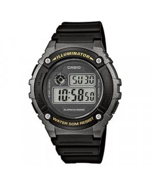 Sportowy zegarek męski Casio Collection W-216H-1BVEF (W216H1BVEF)