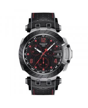 Szwajcarski sportowy zegarek męski TISSOT T-Race Chronograph Marc Marquez T115.417.27.057.01 (T1154172705701)
