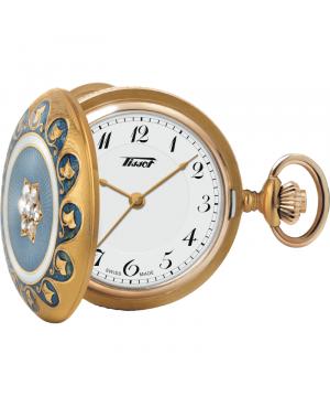 Szwajcarski zegarek kieszonkowy damski TISSOT Pendant 1878 160th Anniversary Mechanical T856.205.19.012.00 (T8562051901200)