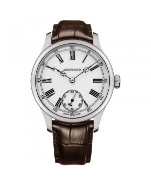 Szwajcarski klasyczny zegarek męski AEROWATCH Renaissance Grande Mecanique 55981 AA03