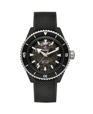 Szwajcarski sportowy zegarek męski RADO Captain Cook High-Tech Ceramic R32127156