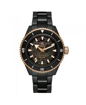 Szwajcarski sportowy zegarek męski RADO Captain Cook High-Tech Ceramic R32127162