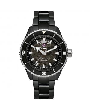 Szwajcarski sportowy zegarek męski RADO Captain Cook High-Tech Ceramic R32127152