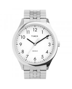 Klasyczny zegarek męski TIMEX Modern Easy Reader TW2U39900