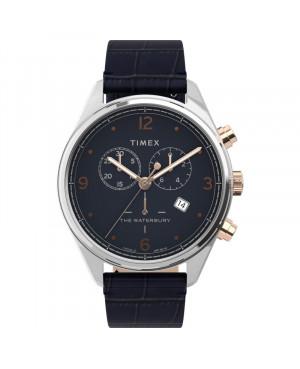 Klasyczny zegarek męski TIMEX Waterbury TW2U04600