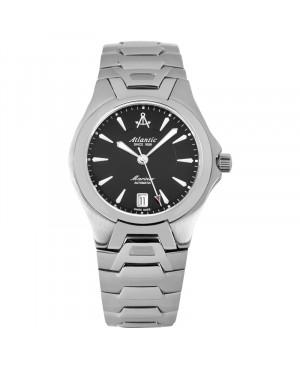 Szwajcarski, klasyczny zegarek męski Atlantic Mariner Automatic 80755.41.61 (807554161)