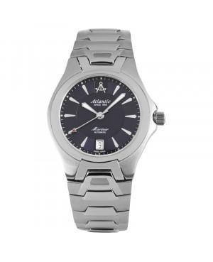 Szwajcarski, klasyczny zegarek męski Atlantic Mariner Automatic 80755.41.51 (807554151)