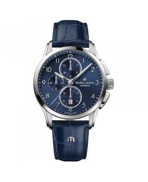 Szwajcarski klasyczny zegarek męski MAURICE LACROIX PONTOS PT6388-SS001-420-4 (PT6388SS0014204)