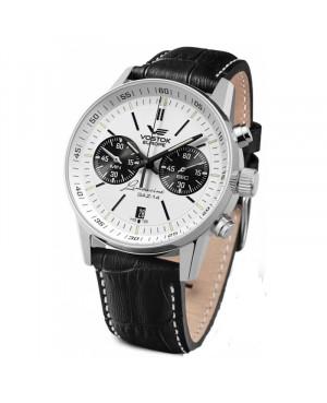 Klasyczny zegarek męski VOSTOK EUROPE Gaz-14 6S21/565A598 (6S21565A598)