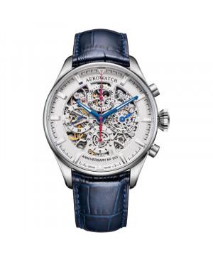 Szwajcarski klasyczny zegarek męski AEROWATCH Les Grandes Classiques 61989 AA04 SQ (61989AA04SQ)