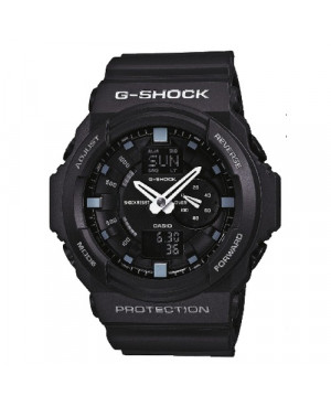 Sportowy zegarek męski CASIO G-SHOCK GA-150-1AER (GA1501AER)