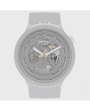 Sportowy zegarek męski SWATCH C-GREY SB03M100
