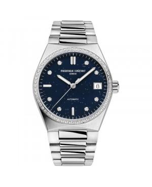 Szwajcarski elegancki zegarek damski FREDERIQUE CONSTANT Highlife  Ladies Automatic Sparkling FC-303NSD2NHD6B