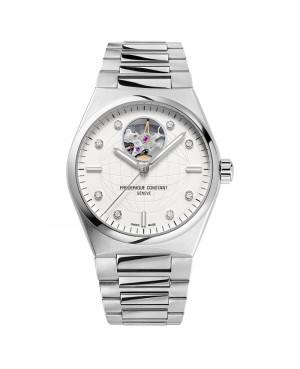 Szwajcarski elegancki zegarek damski FREDERIQUE CONSTANT Highlife Ladies Automatic Heart Beat FC-310SD2NH6B