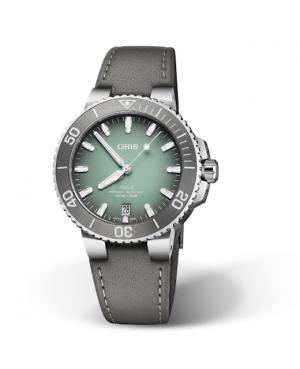 Szwajcarski zegarek męski do nurkowania ORIS AQUIS DATE 01 733 7732 4137-07 5 21 12FC